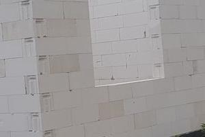 Ścianka z pustaków01