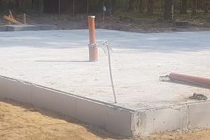 Podest betonowy